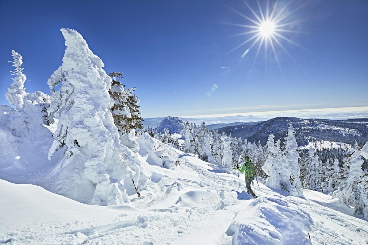 """W5A5530 - Schneeschuhwandern im Bayerischen Wald bei den """"Acht Tausendern"""""""