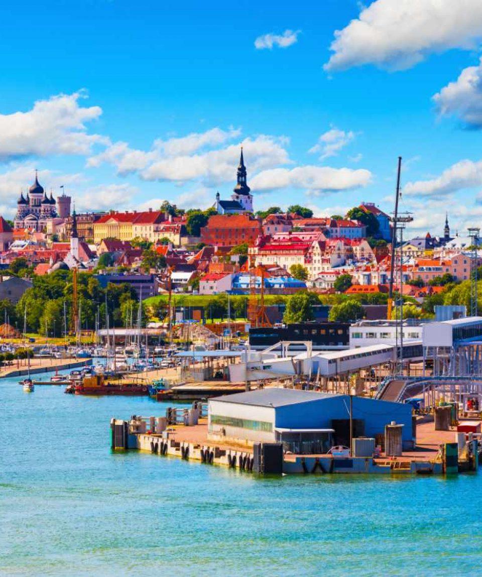 shutterstock_312025430 - Hafen Tallinn