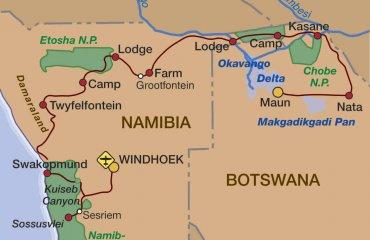 2019 Namibia und Botswana mit dem Jeep