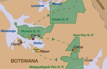 Karte-2019-Botswana-Flugsafari