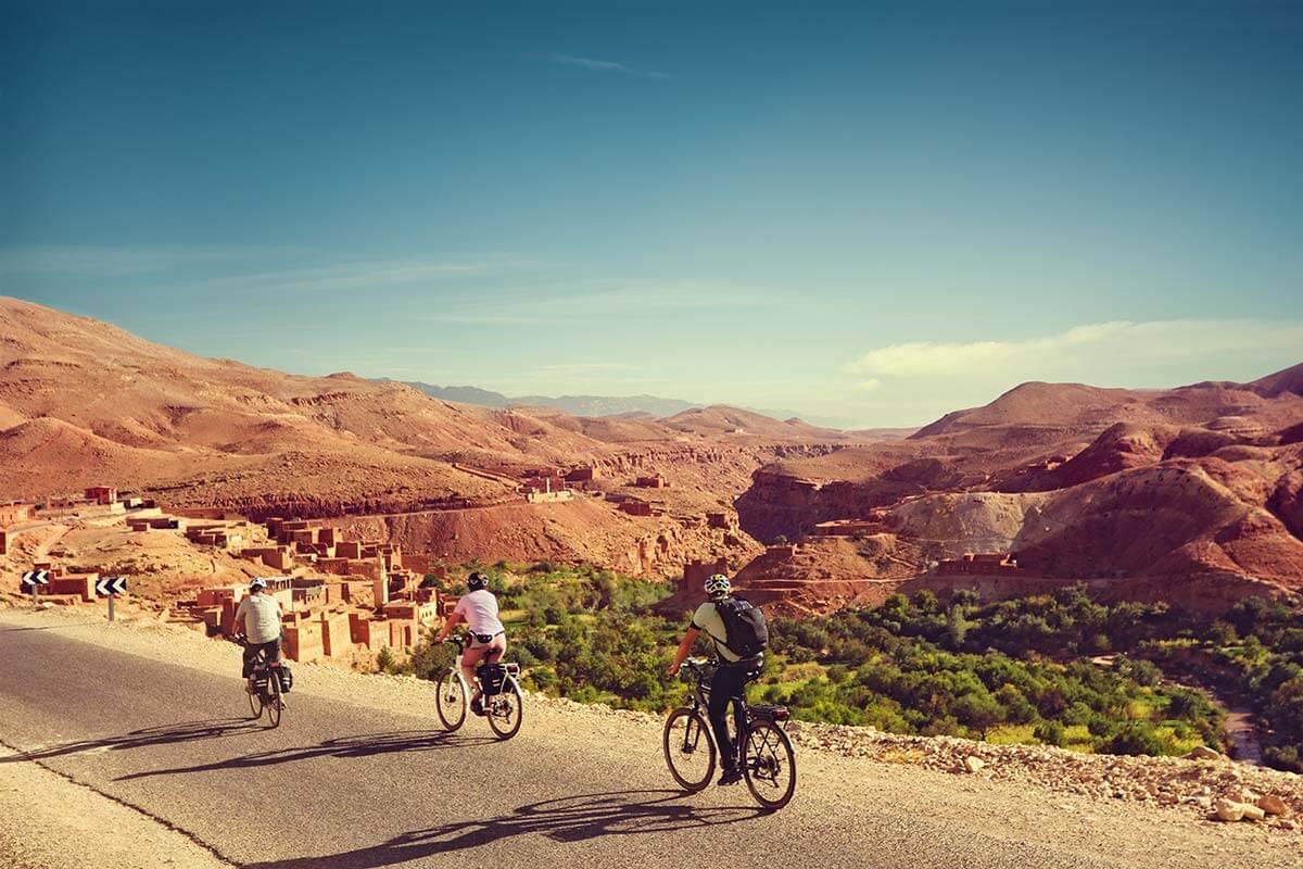 Belvelo Marokko Hassan Bouhrazen 1 - Über den Atlas in die Sahara