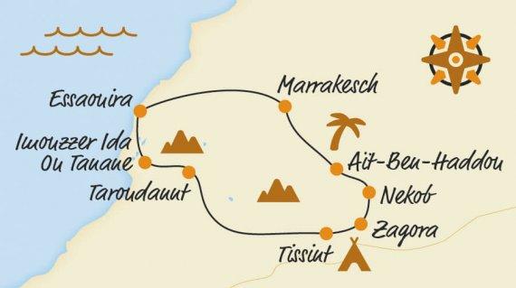 Belvelo2018_Karte_Marokko