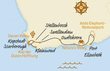 Belvelo2018_Karte_Suedafrika