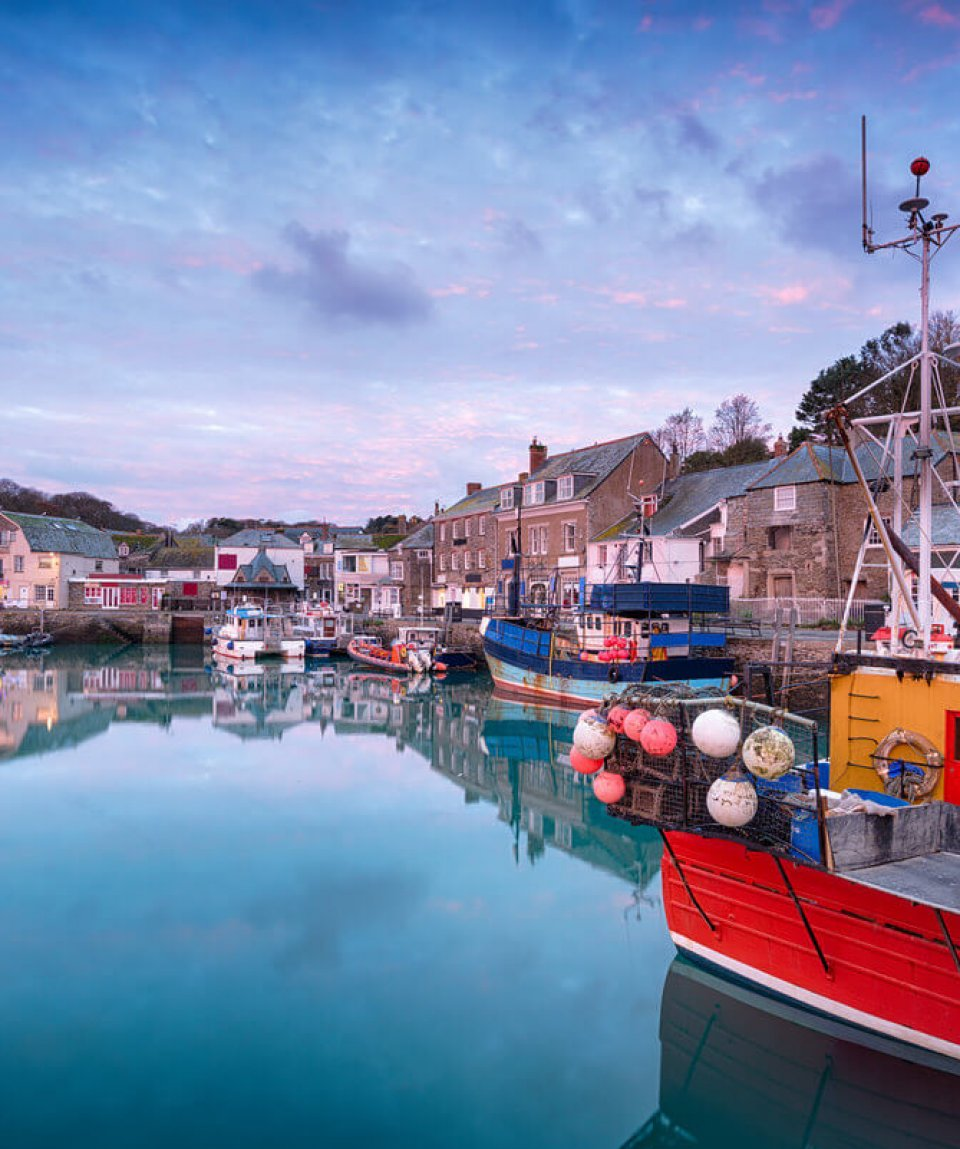 Sunrise Over Padstow Harbour