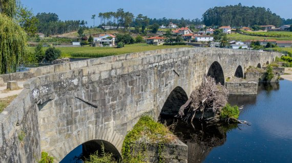 Ponte de Zameiro - Jakobsweg - Belvelo - Tom Andersch