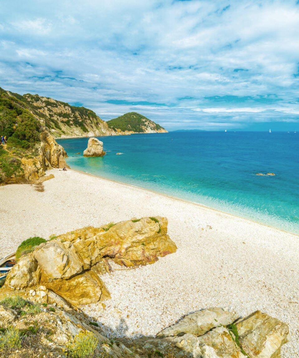 Sansone beach, Elba Island, Tuscany,Italy.