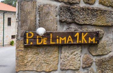 Wegweiswer Ponte de Lima - Jakobsweg - Belvelo - Tom Andersch