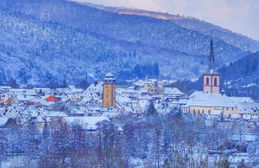 Lohr a.Main im Winter - Touristinfo Lohr