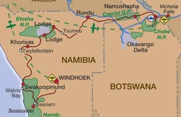 2016 Namibia Botswana Selbstfahrer