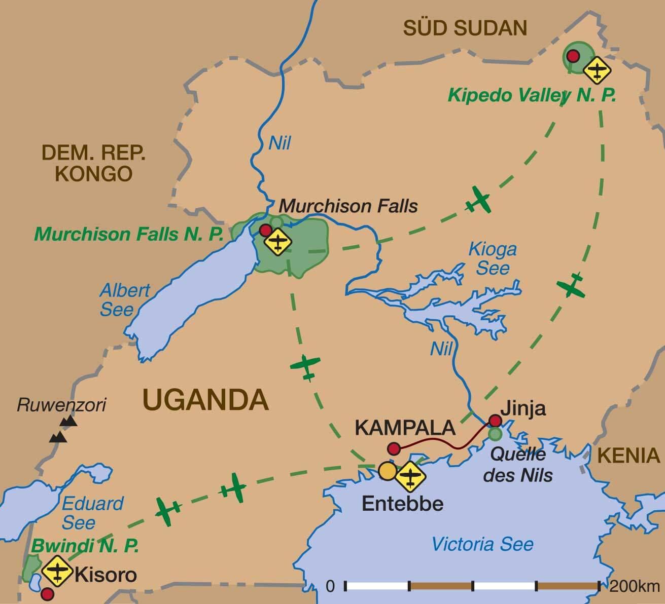 Uganda Auf Unbekannten Pfaden Scharff Reisen Ausgesuchte Erlebnisreisen