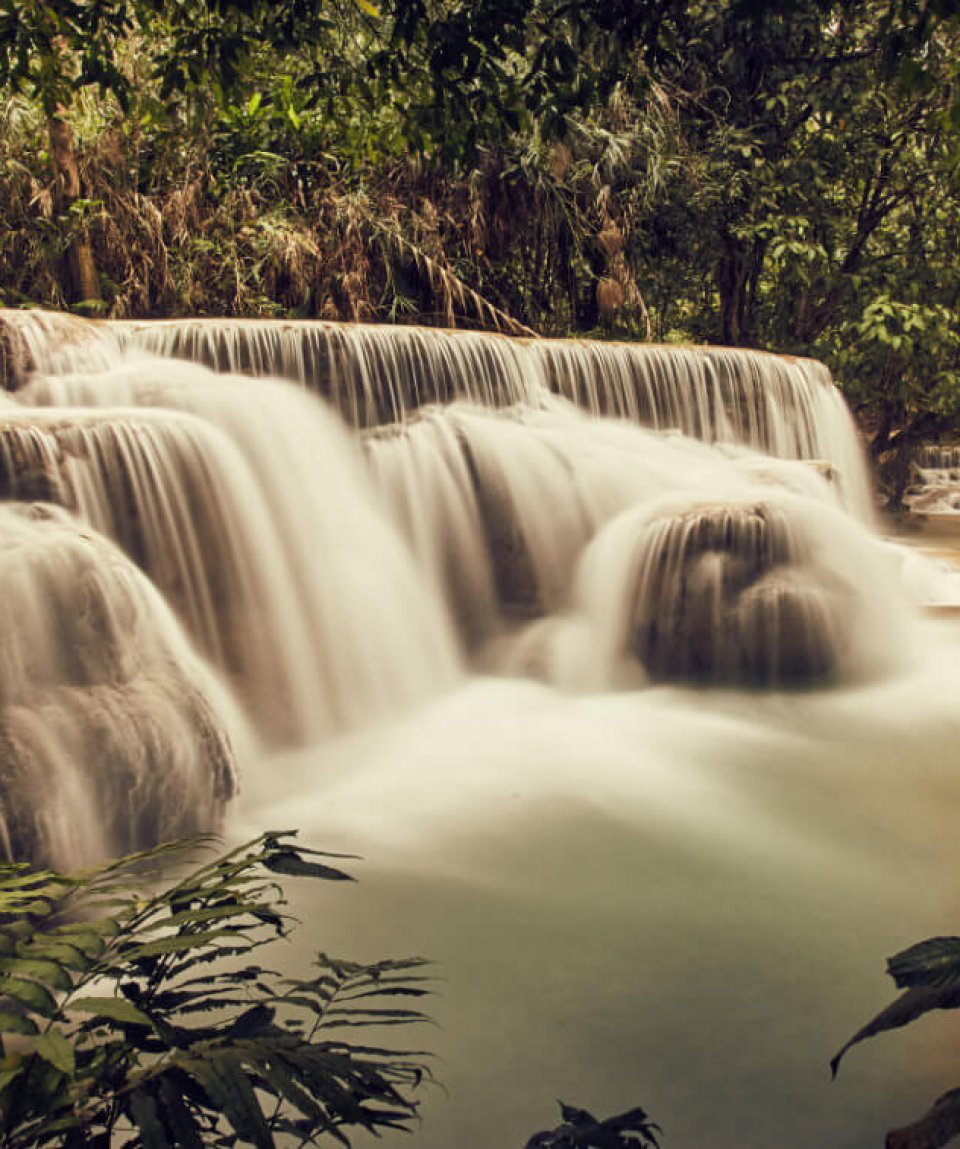 Kuang Si-Wasserfälle 13 - Ross Hillier