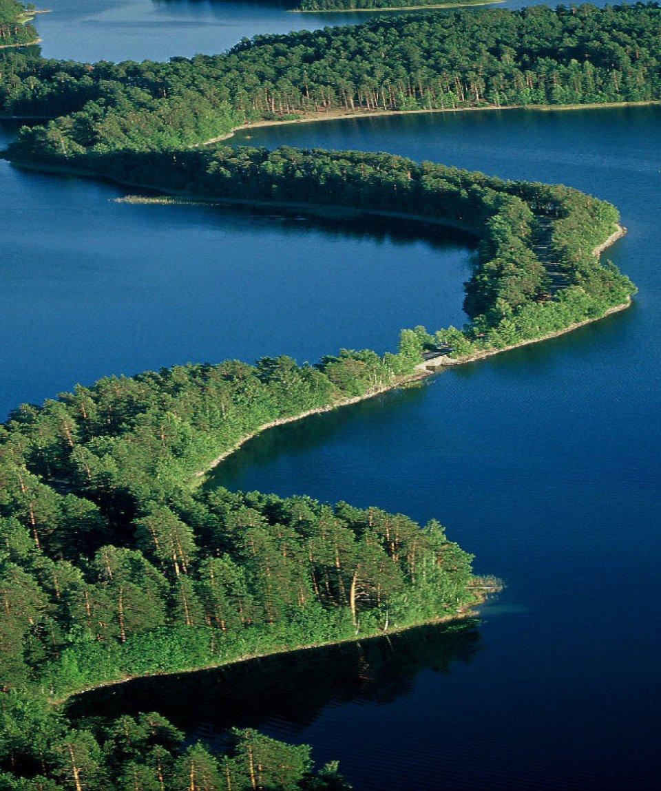 Punkaharju_aerial - Visit Finnland