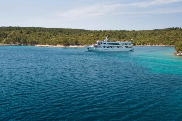 Majestic 2 631x420 - Bezaubernde dalmatische Küste und Inselwelt