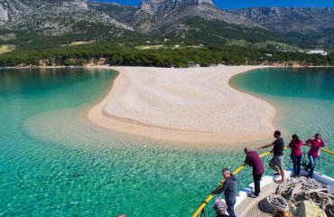 Zlatni rat beach - Bol - Island Brac