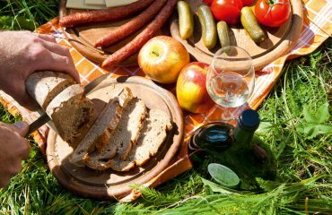 Picknick in den Sulzfelder Weinbergen