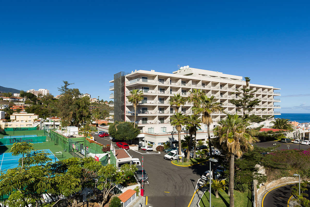 Hotel El Tope Außen 2
