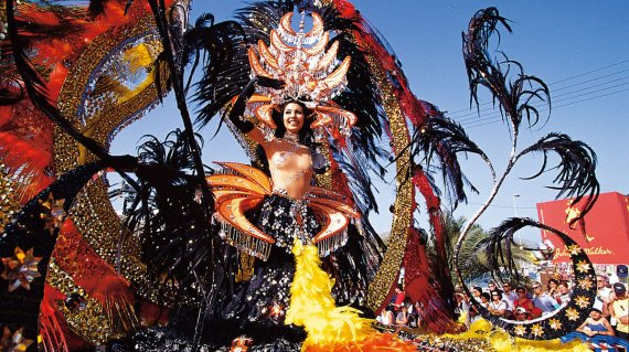 Candidata a Reina del Carnaval