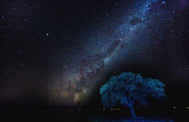 Leuchtende Milchstraße in Namibia - Andreas Huber