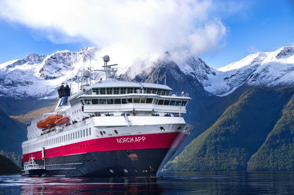 MS Nordkapp Hjorundfjord Norway HGR 09931 - Hurtigruten Postschiffreise Norwegen 2020