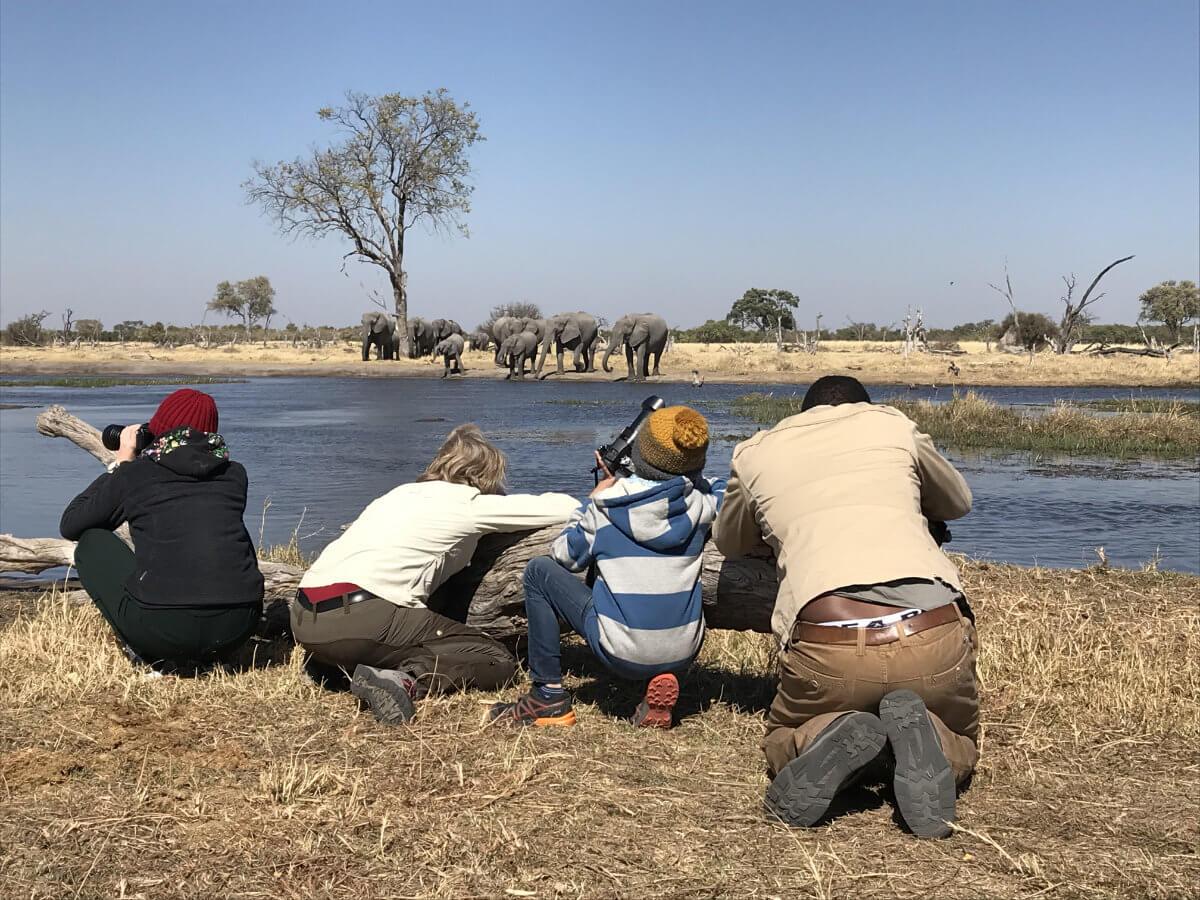 partner luki all - Familienreise Botswana