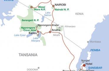 2020 Abenteuer Tansania und Kenia