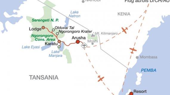 2020 Tansania und Sansibar