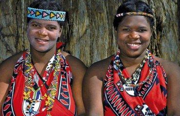 Frauen in Swasiland - Shongololo