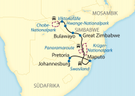 Karte_African_Explorer_Pretoria - Viktoriafälle
