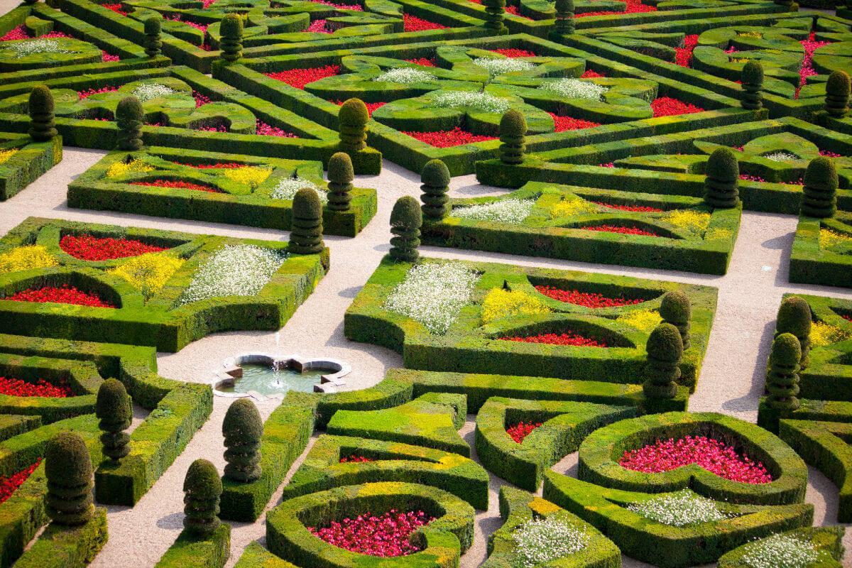 Renaissance-Gärten von Villandry – Open Mind Pictures stock.adobe.com